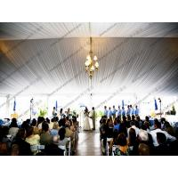 Buy cheap Elegant PVC Wedding Event Tents Transparent Cover Lining And Curtain Decoration from wholesalers