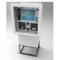Buy cheap Wall Mounted / Through Wall Kiosk Cash Operate For Money Deposit Withdraw Transfer from wholesalers