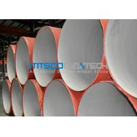 Buy cheap ASTM A312 Welded Pipe Plain Ends , Stainless Steel Thin Wall Pipe With RT from wholesalers