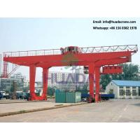 Buy cheap 30ton prices mg hoist gantry crane lifting design drawing for sale from wholesalers