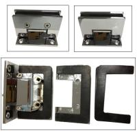 Buy cheap Corner 90 degree shower door hinge difference Glass cut -cut C hole from wholesalers