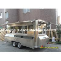 Buy cheap Camping Kitchen Mobile Cooking Trailers Strong Stainlee Steel from wholesalers