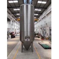 Buy cheap SS 304 Dimple Jacketed Stainless Steel Beer Fermenter 4 Legs With Leveling Footpads from wholesalers