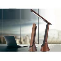 Buy cheap 2000mAh USB Rechargeable Desk Lamp 260lm With Calendar Alarm Clock Leather Texture from wholesalers