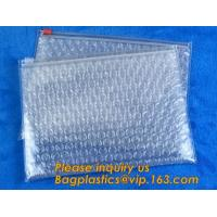 Buy cheap Cosmetic Slider Ziplock Bubble Bags Bubble Slide Pouch,ziplock esd bubble bag bubble packaging wrap cosmetic pouch slide from wholesalers