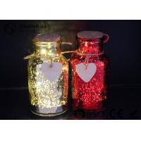 Buy cheap Glass Jar Wine Bottle Led Lights For Home / Party / Events WB-019 product