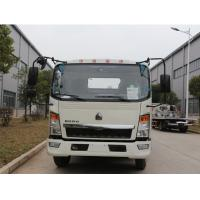 Buy cheap SINOTRUK HOWO 4x2 6 Ton Slide Bed Tow Truck With 21m Steel Wire Rope from wholesalers