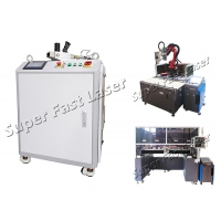 Buy cheap IPG Laser Source Fiber Pulse Energy Laser Rust Removal Cleaning Machine from wholesalers
