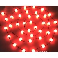 Buy cheap 10 ft reel DMX 24v 50mm RGB pixel led light strings globe 3D balls for outdoor decoration project product