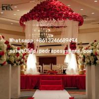 Buy cheap Romantic event wedding tent ceiling drape fabric kits backdrop wall decoration from wholesalers