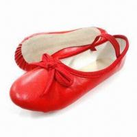 Buy cheap Children's Comfortable Ballerina Shoes, Made of PU and PVC Materials, Water-resistant from wholesalers