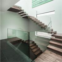 Buy cheap Prima straight stairs used metal staircase steel stringer floating stairs price from wholesalers