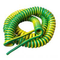 Buy cheap Unshielded Spring Coiled Electrical Cable , 2 Core / 4 Core Curly Power Cord product