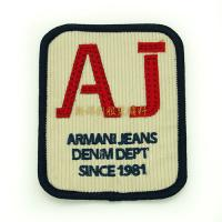 Buy cheap Iron On Garment Vintage Embroidered Patches , Personalised Embroidered Badges from wholesalers
