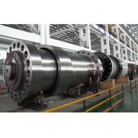 Buy cheap Heat Treatment Heavy Forged Steel Shaft Hydropower Spindle Flange OD 2m product