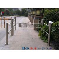 Buy cheap High Speed Swing Barrier Gate Double Core Biometric Stainless Steel for Fitness Center product