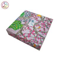 Buy cheap Custom Printed Apparel Boxes Waterproof Feature Recycled Material from wholesalers