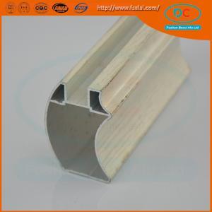 Buy cheap Customed  Matt aluminum wardrobe profile, wardrobe profile,SS brush aluminum profile product