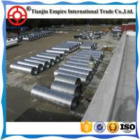 Buy cheap Buried underground big dia double wall galvanized corrugated steel metal conduit pipes for Industrial Liquids delivery from wholesalers