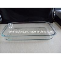 China Glass Baking Tray, Glassware, Glass Bakeware on sale