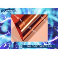 Buy cheap Single Side Shiny Surface 9um Copper Shielding Foil For MRI Room from wholesalers