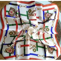 Buy cheap 55x55cm small Square silk scarf, silk neckwear,silk satin scarves product