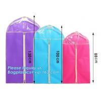 Buy cheap Promotional Customized Nonwoven Garment cover, garment bags, garment sacks, suit cover, dress cover, cover bags, dust co from wholesalers