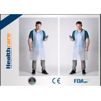 Buy cheap FDA CE Disposable Patient Bibs And Underpads Medical Colored LDPE HDPE Apron from wholesalers