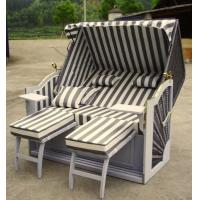 Buy cheap Outdoor Beach / Pool / Garden White Roofed Beach Chair & Strandkorb from wholesalers