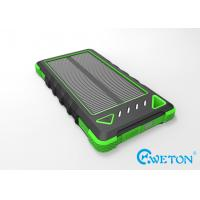 Buy cheap IP54 Rainproof 8000mAh Portable Solar Power Pack Shockproof from wholesalers