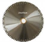 Buy cheap 14 Inch Silent W Segments Circular Diamond Granite Stone Cutting Blade from wholesalers