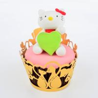 Buy cheap Reusable Animal Shaped Cupcake Wrappers For Weddings Cake Decorating 82mm * 51mm from wholesalers