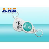 Buy cheap Custom NFC RFID Key Fob 13.56mhz / Epoxy Smart Card For Access System product