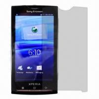 Buy cheap Factory Directly High Clear Screen Protector for Sony X10i, Antis-scratch, Dust-proof from wholesalers