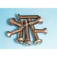 Buy cheap Silicon bronze machine screw from wholesalers
