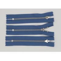 Nickel Y Type Teeth Lampo Jeans Metal Zipper Light Blue Polyester TapeYg Slider
