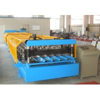 Buy cheap Durable Corrugated Roof Panel Roll Forming Machine , Metal Roof Roll Forming Machine from wholesalers