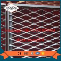 Buy cheap powder coated aluminum expanded metal mesh with L angle frame from wholesalers
