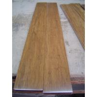 Buy cheap Carbonized strand woven bamboo flooring with UV lacquer, harder than wood flooring from wholesalers