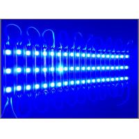 Buy cheap 12V 5050 SMD Module Blue 3leds  For Metal Letters Advertising Modules Backlight Led China Making from wholesalers