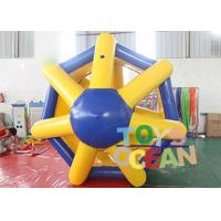 Buy cheap Giant Human Hamster Inflatable Water Toys Roller Wheel For Outdoor Water Activity from wholesalers