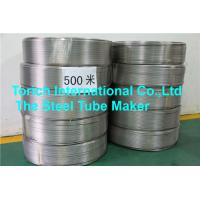 Buy cheap Coiled Seamless Steel Tube D4 / T3 Bright Annealed Stainless Steel Material from wholesalers