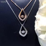 Buy cheap Beautiful Wedding Pendant Necklace Claw Stone Setting High Polish Finish from wholesalers