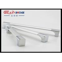 160mm Silver Aluminium Door Pull Handles Combination With Zinc Alloy