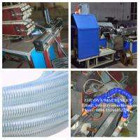 Buy cheap Soft PVC Steel Wire Reinforced Hose Pipe Extrusion Machinery from wholesalers