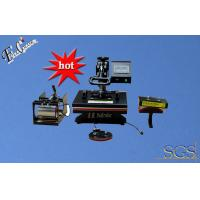 Buy cheap Multifunction combo 4 in1 heat press transfer machine sublimation printing for mug T-shirt hat plate transfer machine from wholesalers