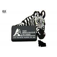 Buy cheap Horse Design Black Rubber Magnets , Custom White Color on Front from wholesalers