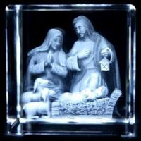 Buy cheap Laser Etched Crystal Block with Light Base (JC4368CL) from wholesalers
