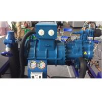 Buy cheap Anti - Collision Bitzer Screw Compressor Unit For Meat Processing Factory 110HP from wholesalers