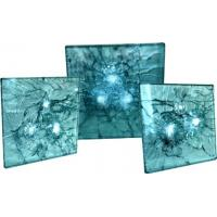 Buy cheap Colored Bullet Proof Glass PVB Laminated For Financial System , Two Or More Sheet from wholesalers